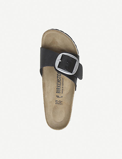 BIRKENSTOCK Madrid Big Buckle faux-leather sandals