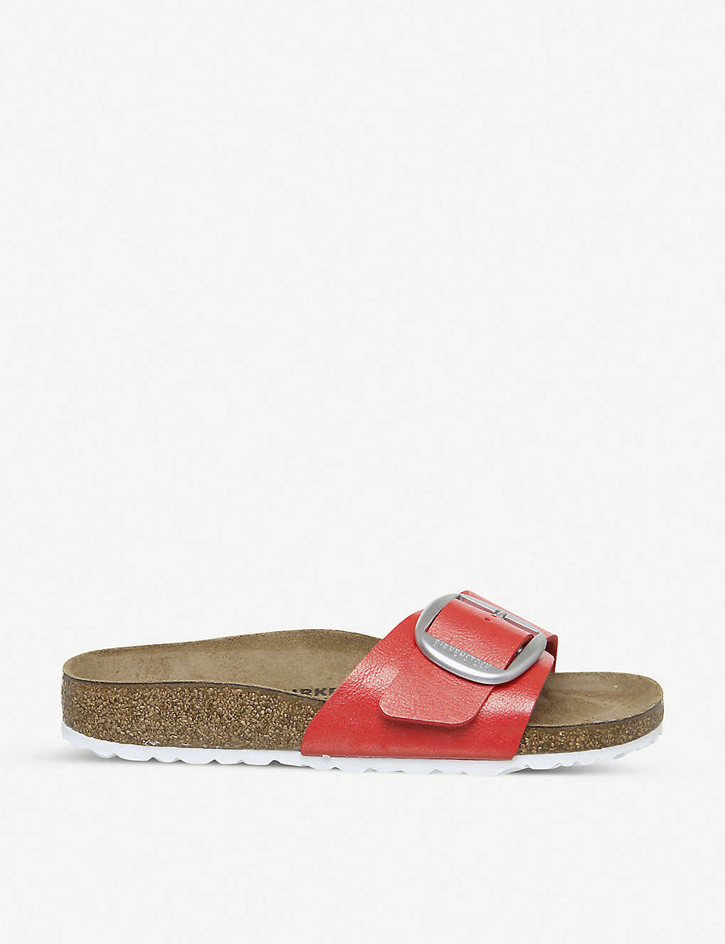 BIRKENSTOCK: Madrid Big Buckle faux-leather sandals