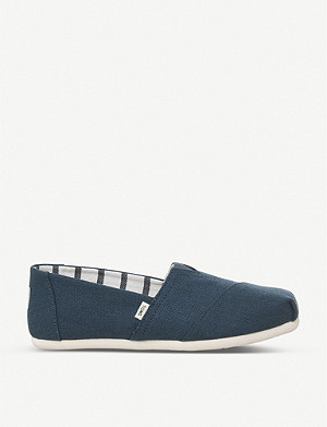 TOMS Alpargata canvas espadrilles shoes