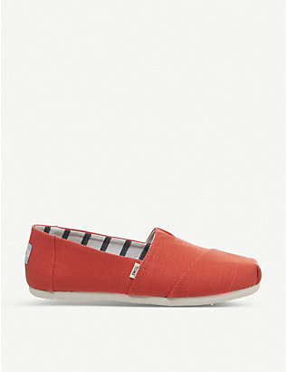 TOMS: Alpargata canvas shoes