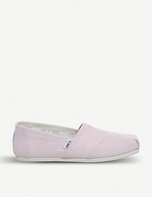 9d574edf74c TOMS Alpargata chambray shoes