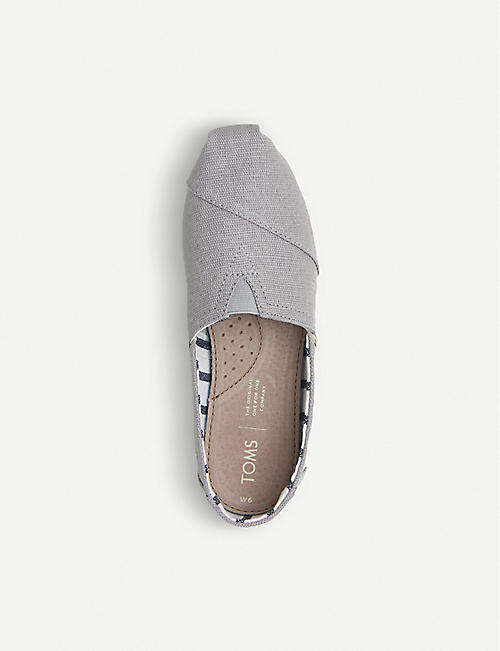 OFFICE Alpargata canvas espadrilles shoes