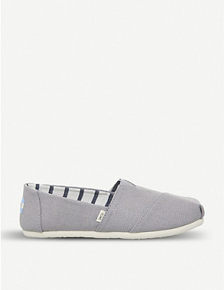 TOMS: Alpargata canvas espadrilles shoes
