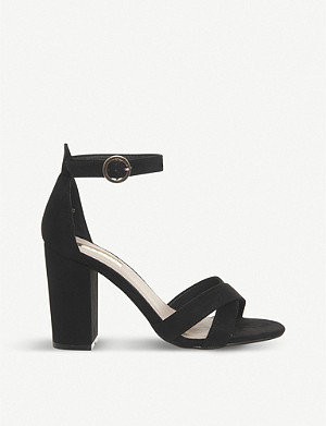 ccdc4bed5e7 OFFICE · Holborn cross-strap heeled sandals · OFFICE Hiccup faux-leather ...