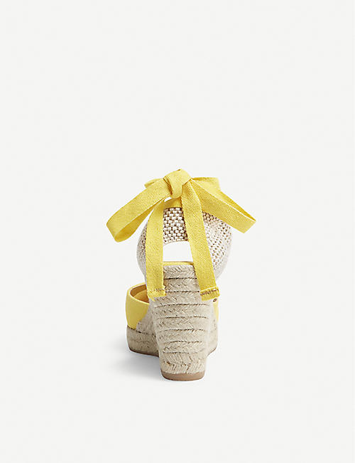 OFFICE Marmalade espadrille wedge sandals