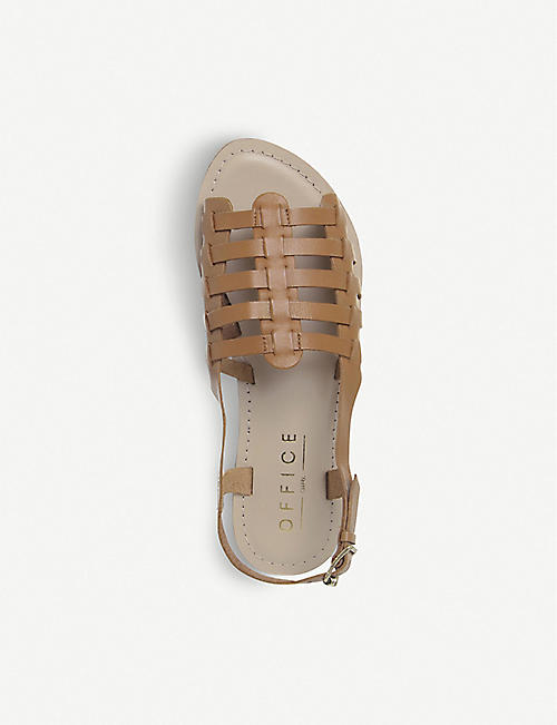 429d08ad3a54 OFFICE Saviour leather sandals