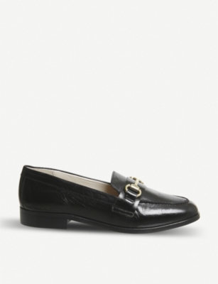 OFFICE Fluster leather loafers