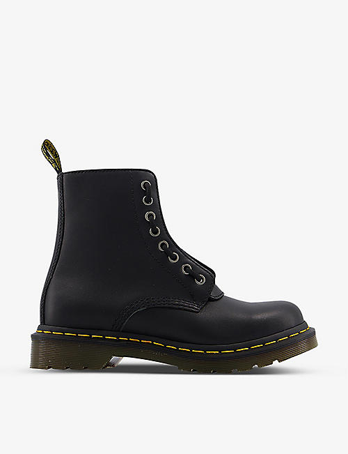DR. MARTENS: 1460 Pascal leather boots