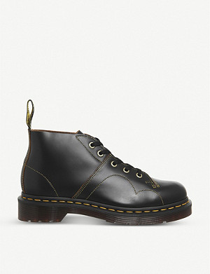 DR. MARTENS 5-eye Church Monkey leather boots