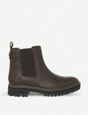 TIMBERLAND London Square leather Chelsea boots