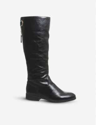 OFFICE Kayak leather knee-high boots