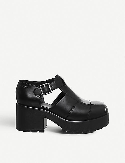 VAGABOND Dioon leather platform sandals
