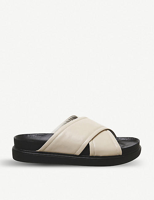 VAGABOND Erin leather flatform sandals