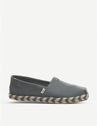 TOMS: Alpargata Rope canvas shoes