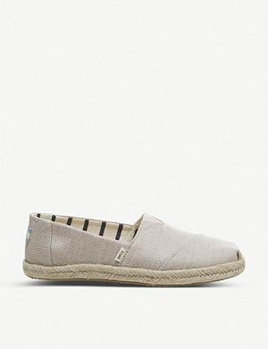 OFFICE Alpargata Rope canvas shoes