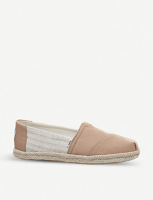 TOMS Ivy League Alpargata canvas shoes