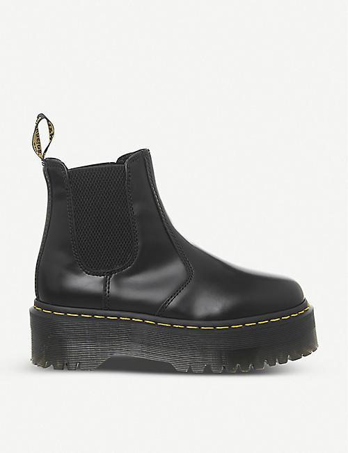 REEBOK 2976 platform leather Chelsea boots