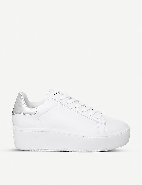 ASH Cult leather platform trainers