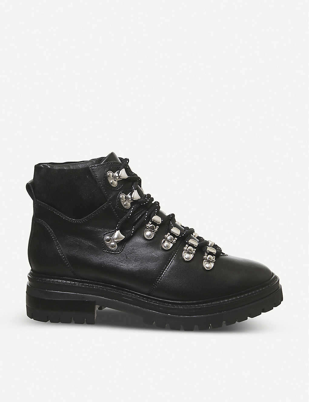 OFFICE: All-above leather hiking boots