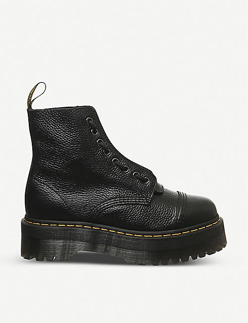 DR. MARTENS: Sinclair platform leather boots
