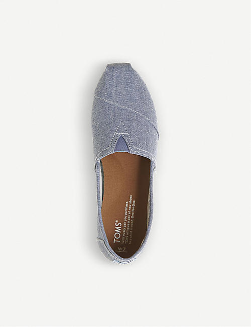 TOMS Seasonal Classic canvas slip-on shoes