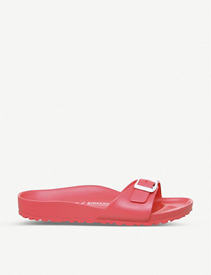 BIRKENSTOCK Madrid 1 Bar faux-leather sandals