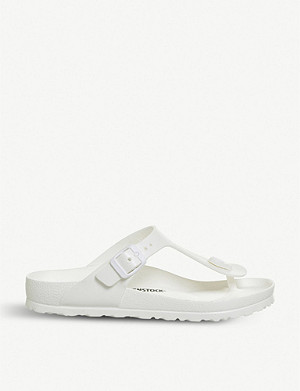 BIRKENSTOCK Gizeh toe-post faux-leather sandals