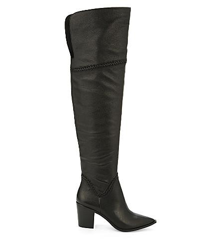 e47d60985cc ALDO - Olena leather over-the-knee boots | Selfridges.com