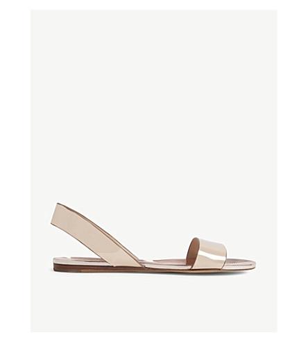 4cf0ef581ec845 ALDO - Yoana metallic flat sandals