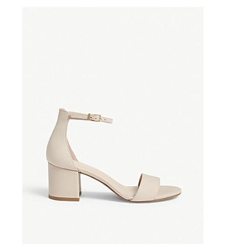 ALDO Villarosa suede block heel sandals (Light+pink