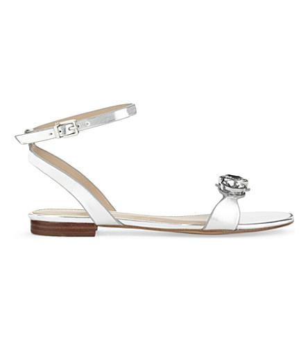 3d54e6e3593d1d ALDO Marybel flat sandals (Silver
