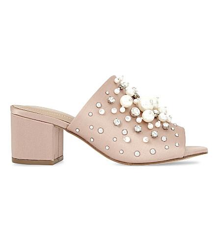 ALDO  Pearls  heeled sandals (Light+pink