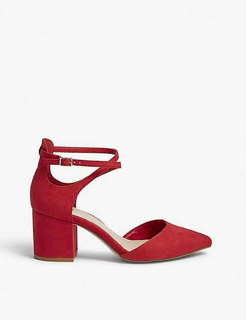 ac2838a306aa3a ALDO Brookshear mid-ankle strap sandals