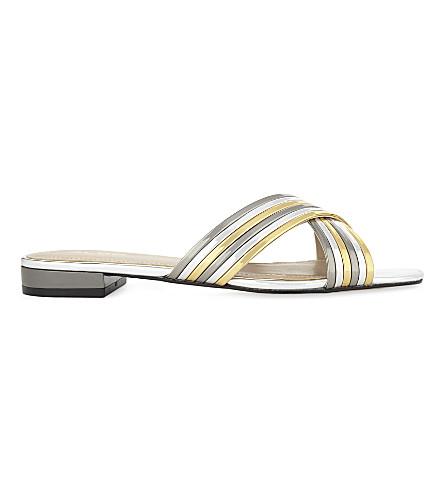 5226c3ea32a931 ALDO - Maryline metallic sandals