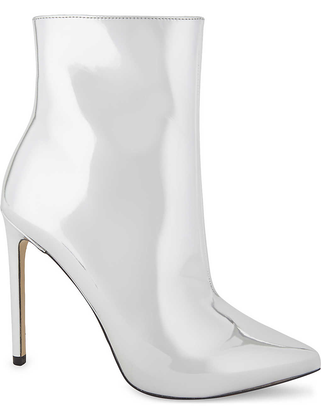 ALDO: Loreni metallic high heeled boots
