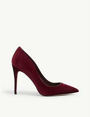 ALDO: Stessy pointed-toe suede courts