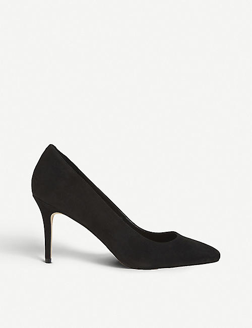 ALDO: Kediredda_ nubuck heeled pumps