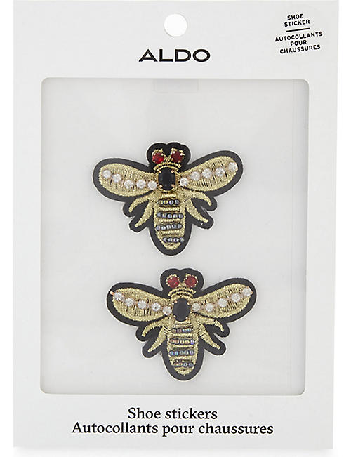ALDO Cadenas wasp shoe stickers