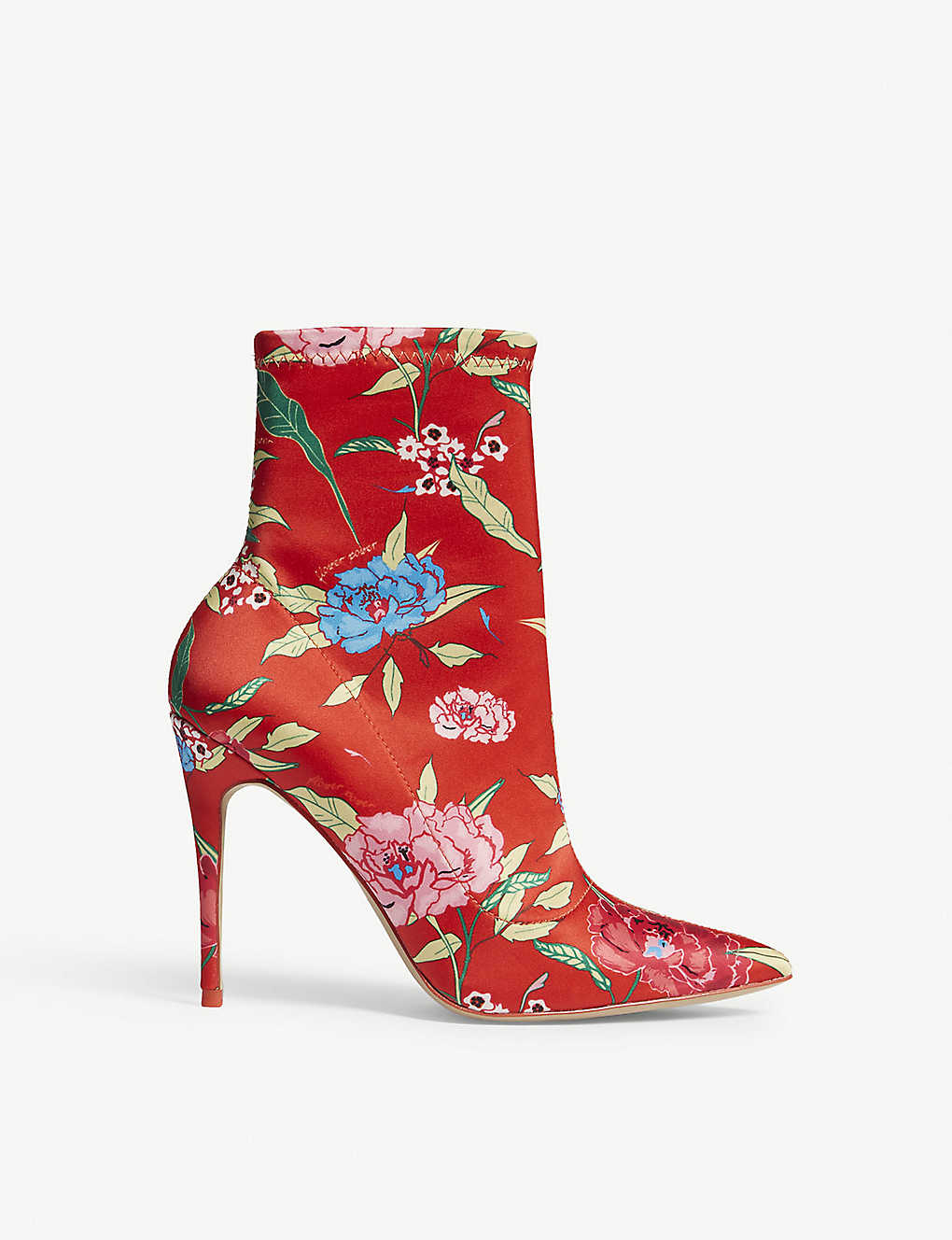 ALDO: Cirelle floral-print heeled ankle boots