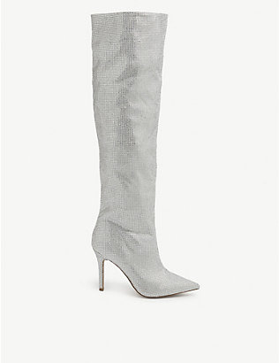 ALDO: Claira embellished over-the-knee boots