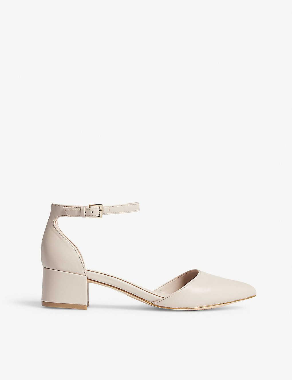 3d84218322 ALDO - Zulian faux-leather block heels | Selfridges.com