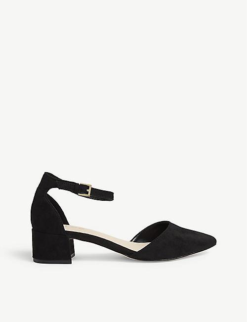 89721acc052 ALDO Davangus bow detail slingback sandals. £63.98. ALDO Zulian  faux-leather block heels
