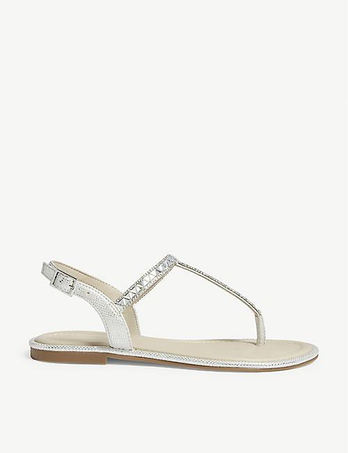 bcfc8c960452 ALDO - Sheeny embellished flat sandals