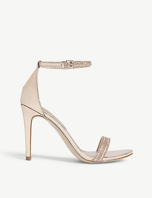 6b9f211ea13 ALDO Ciasa embellished high ankle strap sandals