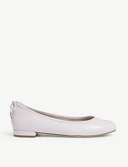 33ff53294af ALDO Broalia leather ballet flats
