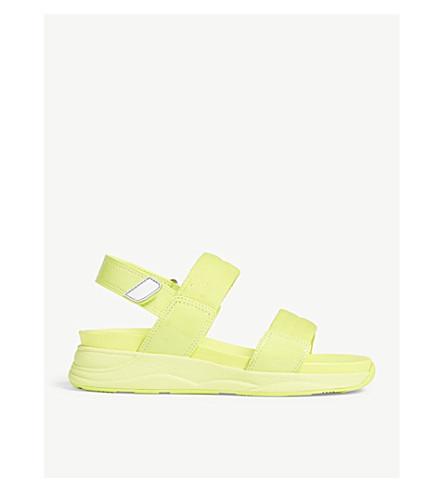 875a8a0dca0 ALDO Eloima open toe sandals (Light+yellow