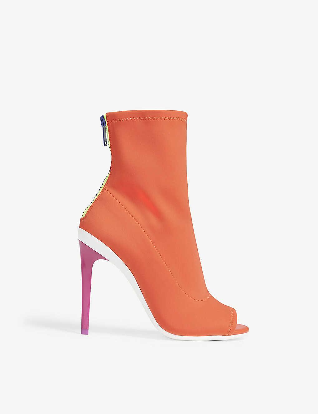 bf2f52739fa ALDO - Ulyssia open-toe heeled ankle boots | Selfridges.com