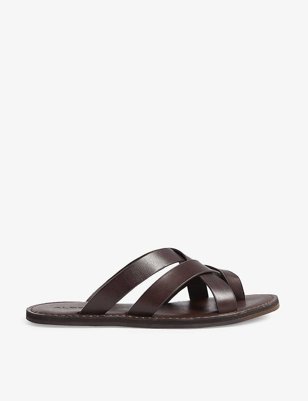 Poade high platform sandals - Black patent ...