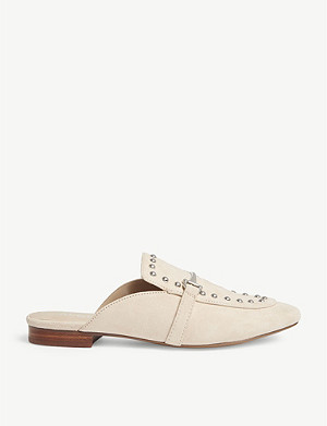 ALDO Vergemoli studded suede loafers