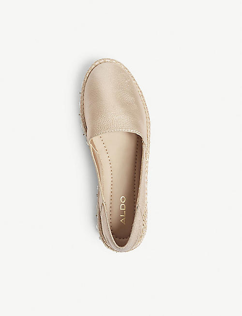 863f294855a ALDO Oceradda leather espadrille shoes